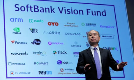 SoftBank value slumps as investors fear it may be the 'Nasdaq Whale'