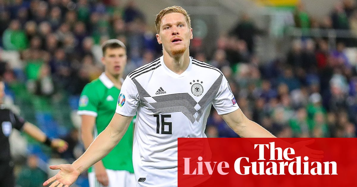 Euro 2020 qualifying: Northern Ireland 0-2 Germany, Scotland 0-4 Belgium and more – live!