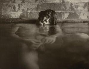 Mineral Baths, Big Sur, California, US, 1967. Edmund Teske (US, 1911-96), gelatin silver print
