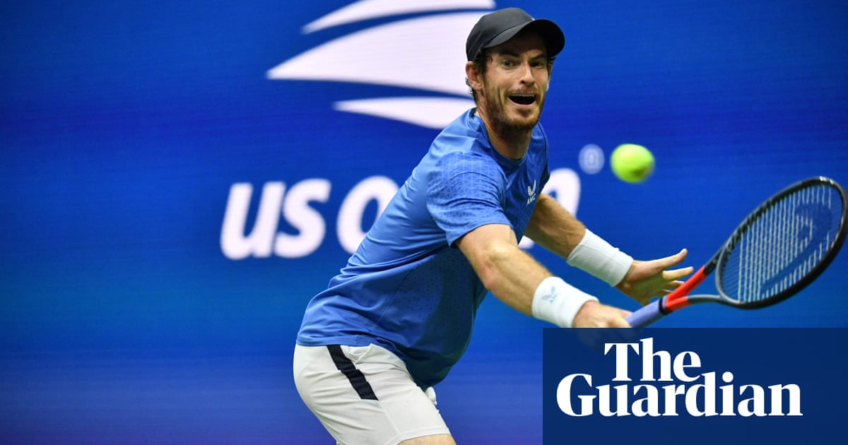 Andy Murray again rolls back years in US Open defeat to Stefanos Tsitsipas