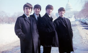 The Beatles in Washington DC, 1964.