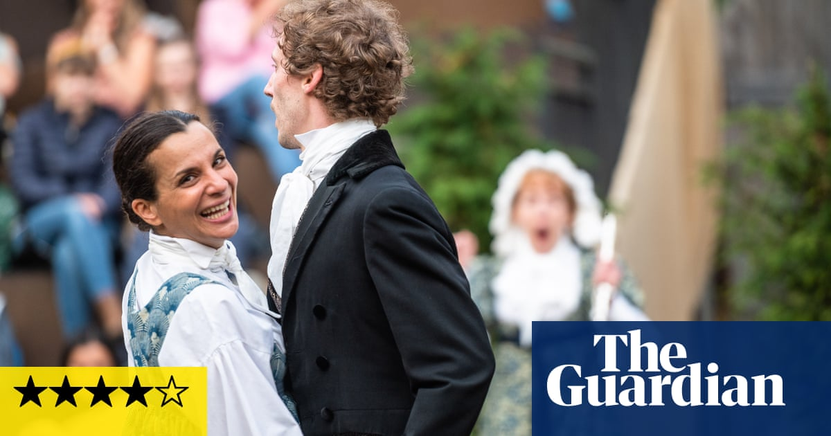 Pride and Prejudice review – bonnets at dawn in a breezy show full of songs and fun