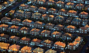 Rows of houses in Newcastle, England