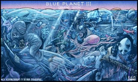 Ben Jennings: fear of a blue planet – cartoon