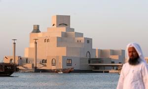 The Museum of Islamic Art in the Qatari capital Doha.
