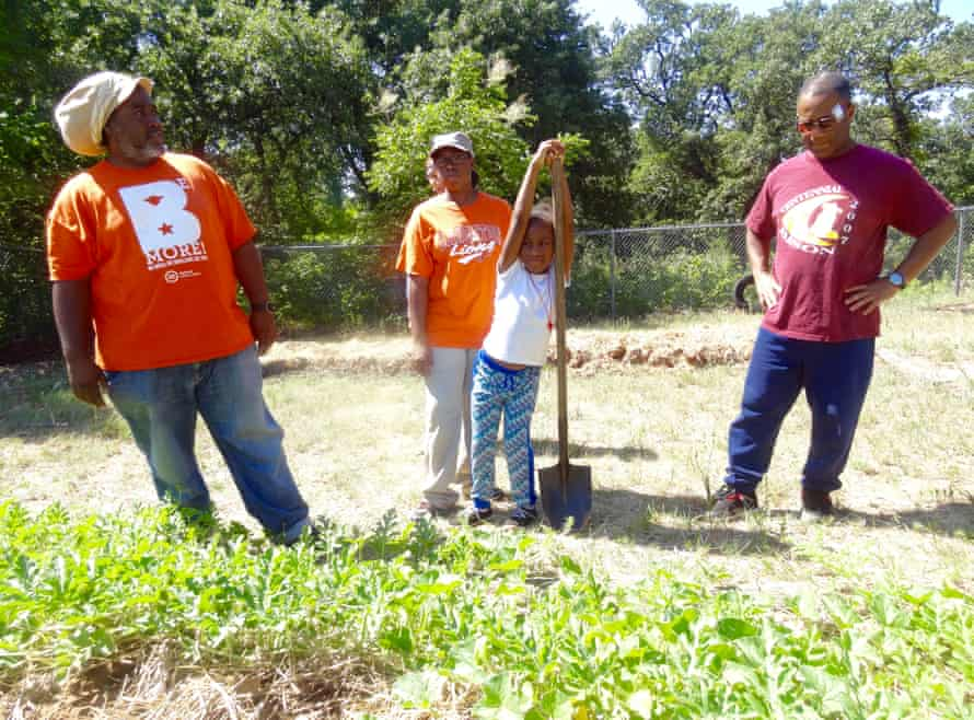 Community gardeners, Oklahoma