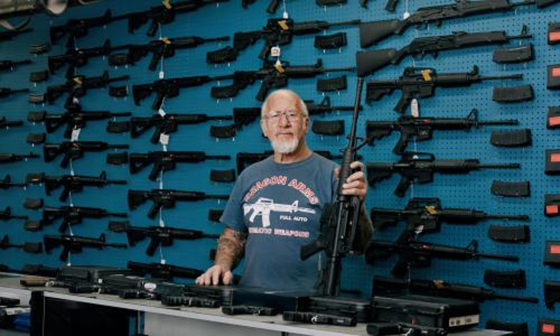 Image result for pictures from Guardian's Gun Nation