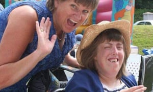 Katy Lowry (right), pictured with her mother, Beverley Richards.