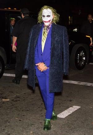2016 Lewis Hamilton as The Joker