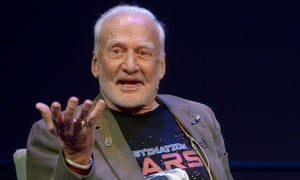 Buzz Aldrin accuses his son Andrew and daughter Janice of using his private company and foundation to enrich themselves but they suggest Aldrin himself is being manipulated.