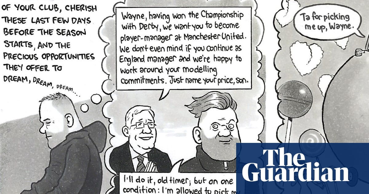 David Squires on … the Football League's return and the Rooney blues
