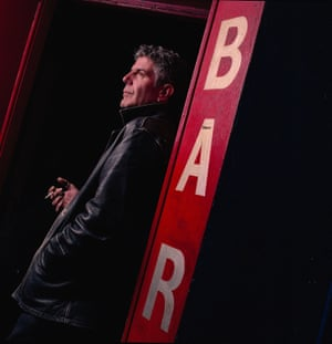 Anthony Bourdain in Cork, Ireland, for Observer Food Monthly in 2006