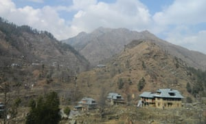 The village of Maidan Gali, in India's Poonch district of Jammu and Kashmir state, is perched on a mountain that has both Indian and Pakistani security posts.