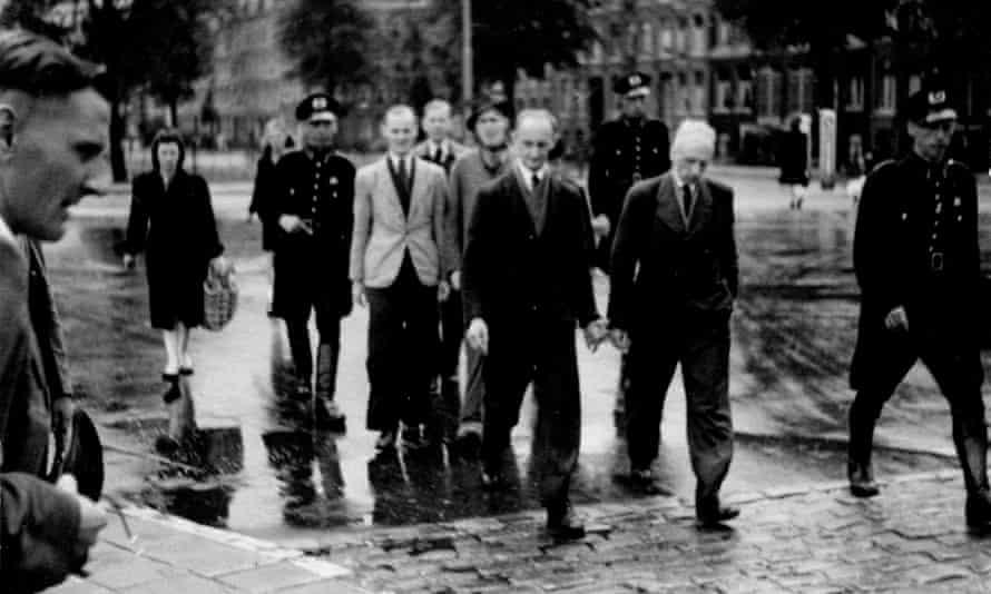 A German raid in Amsterdam in 1943.