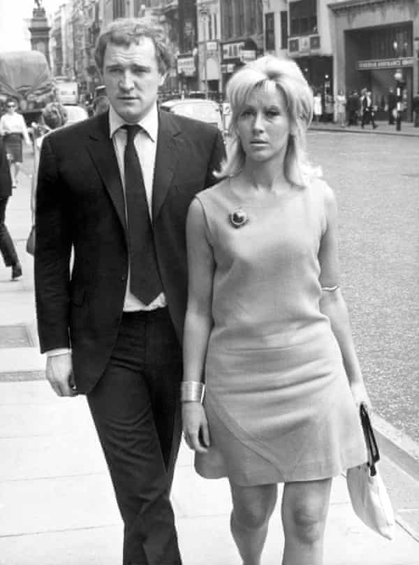 'She was like a rock star' … parents Richard Harris and Elizabeth Rees-Williams.