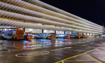 'Nowadays Brutalism is championed by outsiders': Preston bus station and car park.