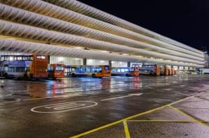 Preston Bus Station and car park