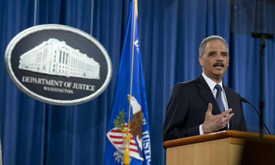 Eric Holder at the Justice Department