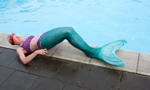 Ruth Beaver finds life tricky as a mermaid.