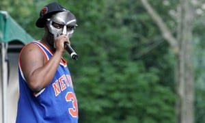 Legion of Doom: the masked rapper on stage in 2005