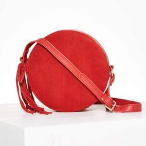 Circle cross body bag, £41, nastygal.com.