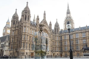 Darren Fuller at the Houses of Parliament, London