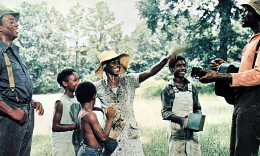 Cicely Tyson, centre, as Rebecca, a sharecropper's wife, in Sounder (1972).