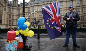 One year to go: pro-remain groups are hoping to take the Brexit fight beyond parliament through newspaper, billboard and social media campaigns.
