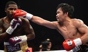 Manny Pacquiao v Adrien Broner