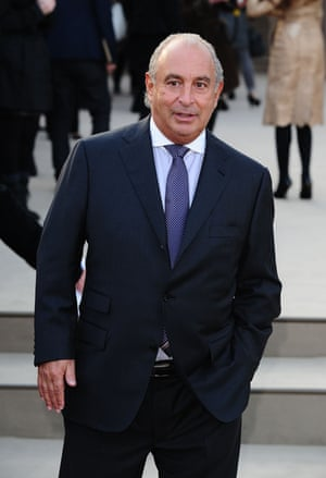 Former BHS owner Sir Philip Green.