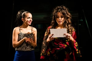 Libby Asciak and Olivia Vasquez in In The Heights at the Hayes, Sydney