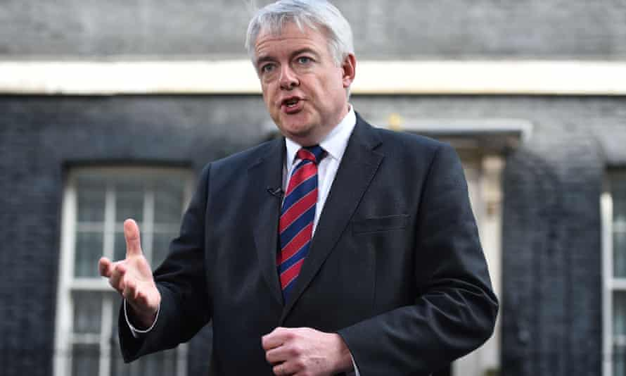 Carwyn Jones, the first minister of Wales, speaks to the media after meeting with David Cameron.