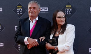 Hussey and her Romeo and Juliet co-star Leonard Whiting in Los Angeles in 2018.
