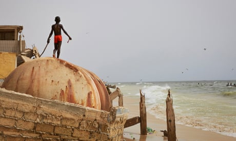 City crumbles as the sands shift on Senegal's coast – in pictures