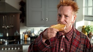 John Lydon in an advert for Country Life butter