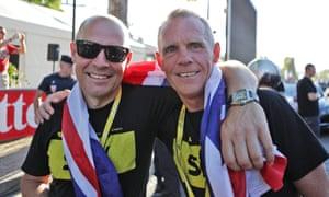 Dave Brailsford and Shane Sutton