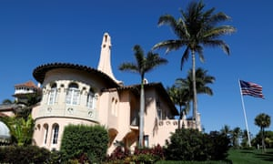 Donald Trump's Mar-a-Lago estate in Palm Beach, Florida. Trump has changed his primary residence to the Florida estate.