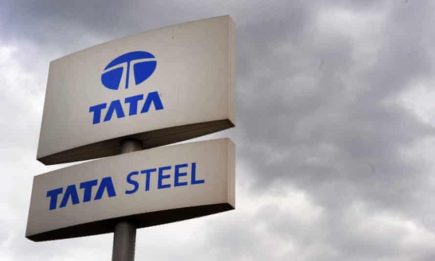 Tata Steel logo.