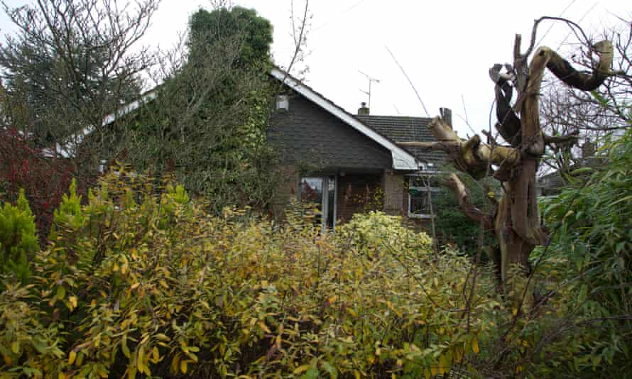 A house in Stafford where a dead body was left sat in an armchair