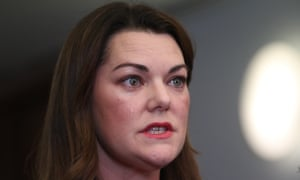 The minister should step aside, Greens senator Sarah Hanson-Young believes.