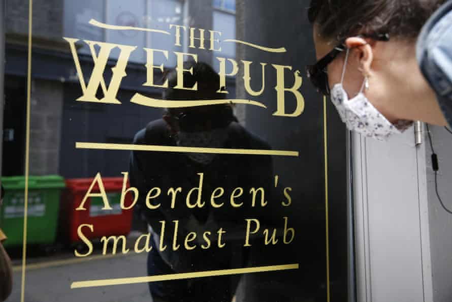 Pubs in Aberdeen have had to close