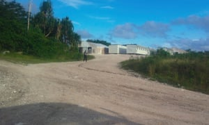 The processing centre on Nauru.