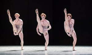 Guido Dutilh, Benjamin Behrends and Miguel Duarte in the 'shallow and meretricious' Sad Case at Sadler's Wells.