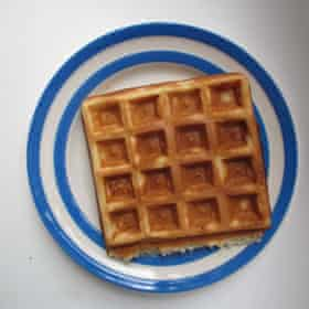 Signe Johansen's Belgian waffles.