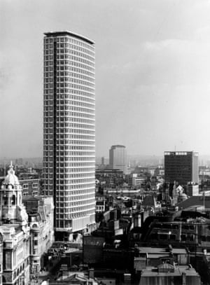 The newly built Centre Point in 1966.