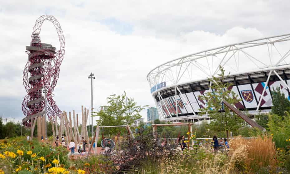 The Queen Elizabeth Olympic Park  in 2016.