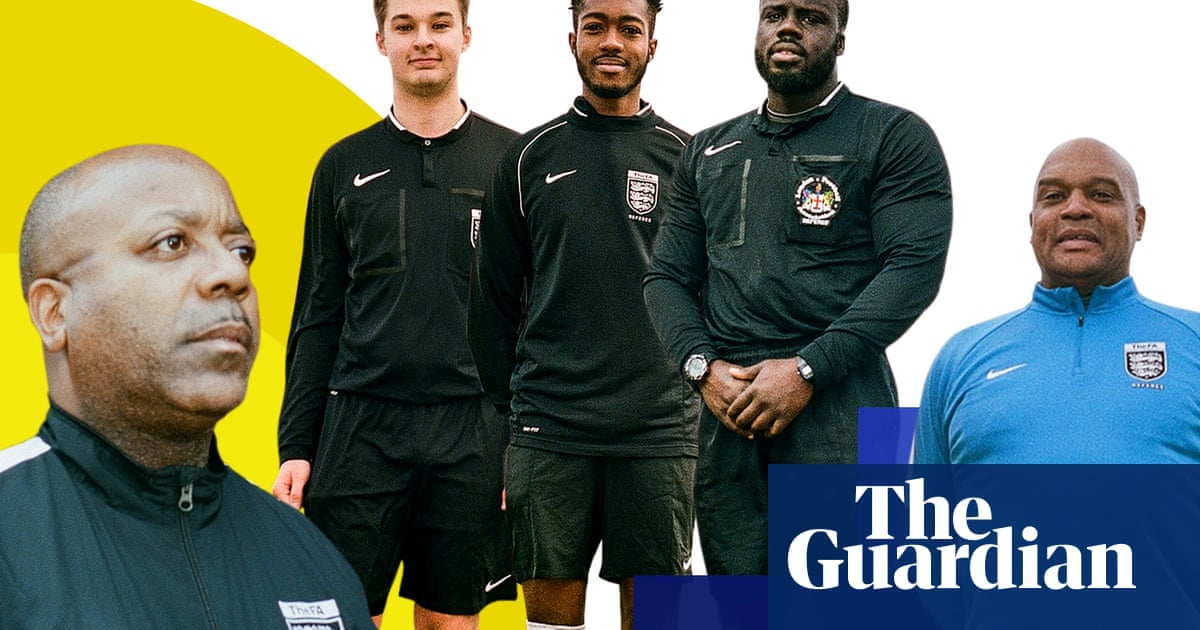 Why would anyone be a Sunday league referee  The love of the game. Guardian  Sport Network · Soccer 1432ef9022746