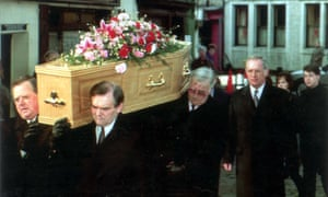 Tony Bland's Funeral In March 1993