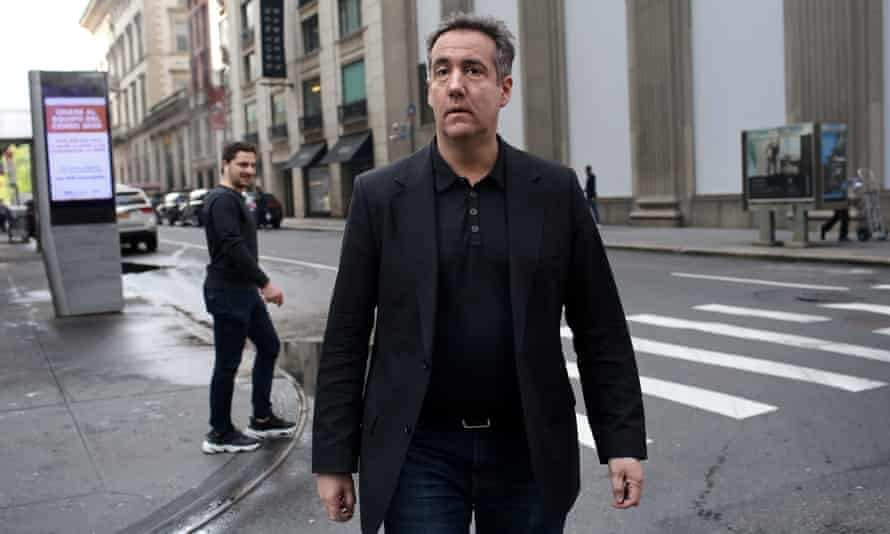 Michael Cohen is scheduled to report to federal prison on Monday.