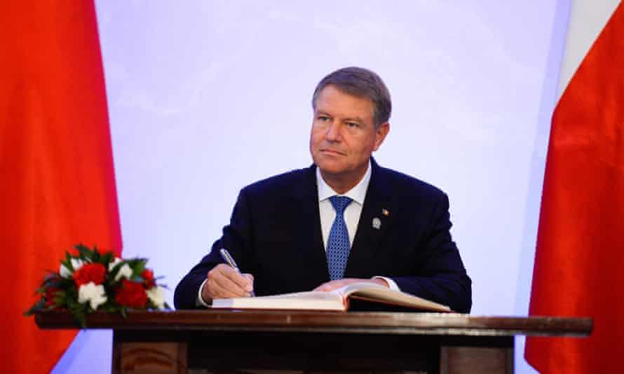 Klaus Iohannis, President of Romania.